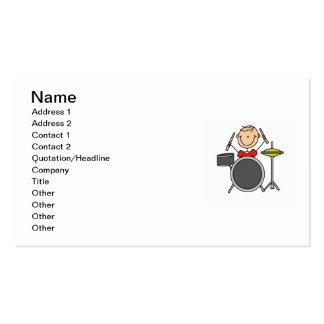 Figura t-shirt e presentes masculinos da vara do cartão de visita
