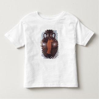 Figura vermelha amphora do sótão camiseta infantil