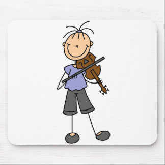 Figura violino Mousepad da vara