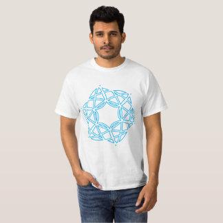 Figuras e estrelas unidas camiseta