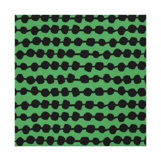 Fileiras dos pontos verdes/Andrea preta Lauren