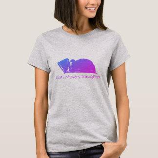 Filha dos mineiros de carvão camiseta