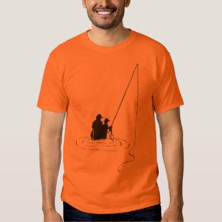 Filho do pai que pesca T Camiseta
