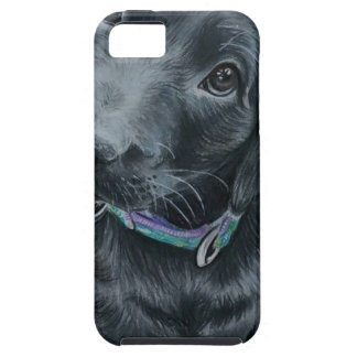 Filhote de cachorro bonito capa tough para iPhone 5