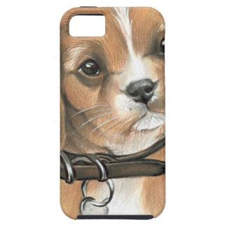 Filhote de cachorro capa tough para iPhone 5