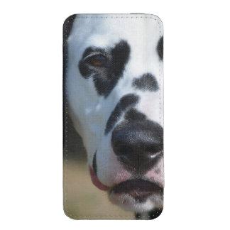 Filhote de cachorro Dalmatian doce Bolsa Para Celular