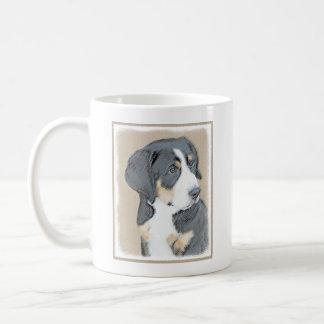 Filhote de cachorro do cão de montanha de Bernese Caneca De Café