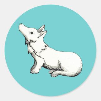 filhote de cachorro do lil adesivo