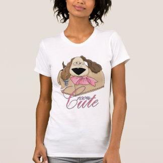 filhote de cachorro pequeno bonito na bolsa - t-shirt
