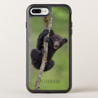 Filhote de urso preto que joga, Tennessee Capa Para iPhone 8 Plus/7 Plus OtterBox Symmetry