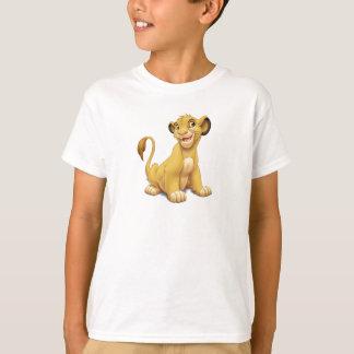 Filhote Disney brincalhão do rei Simba do leão Camiseta
