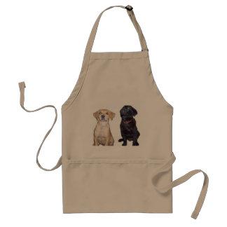 filhotes de cachorro avental
