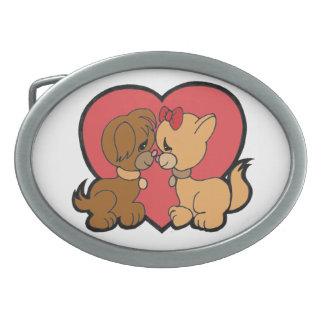 Filhotes de cachorro no amor