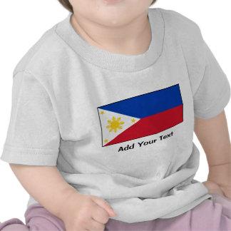 Filipinas - bandeira filipina tshirt