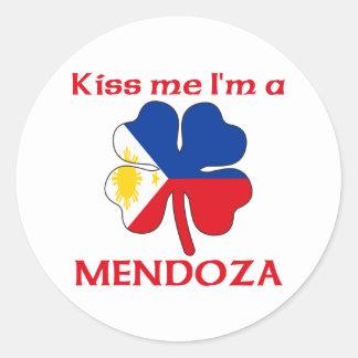 Filipinos personalizados beijam-me que eu sou adesivo