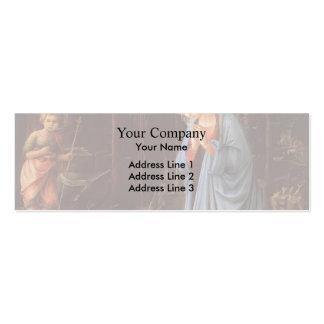 Filippo Lippi- a adoração do Jesus infantil Modelo De Cartões De Visita