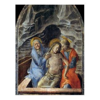 Filippo Lippi- Pietà Cartao Postal