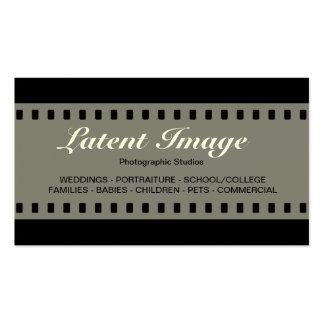 filme 010 de 35mm (creme) cartoes de visita