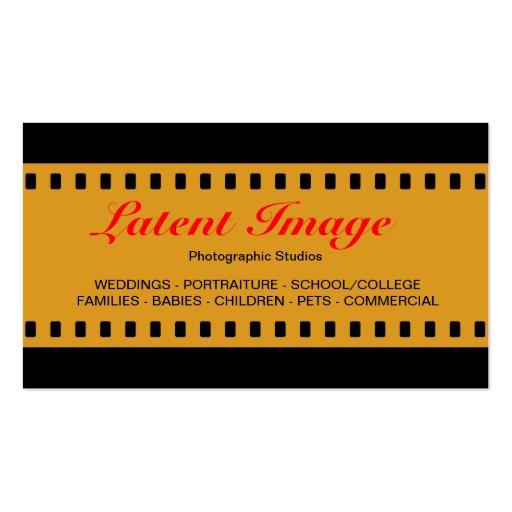 filme 03 de 35mm modelos cartao de visita