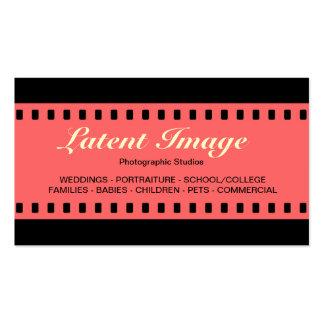 filme 06 de 35mm cartão de visita