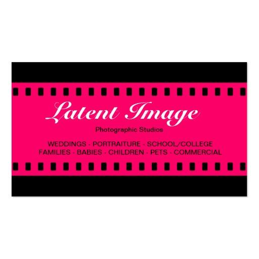 filme 08 de 35mm cartões de visitas