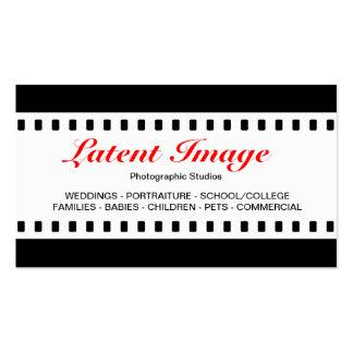 filme de 35mm modelos cartoes de visitas