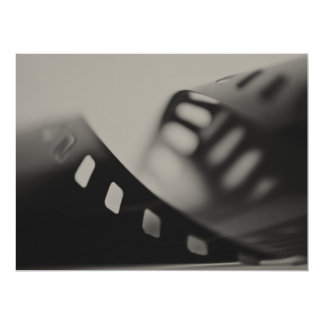 Filme dos trabalhos de exposição dos artistas convite 16.51 x 22.22cm