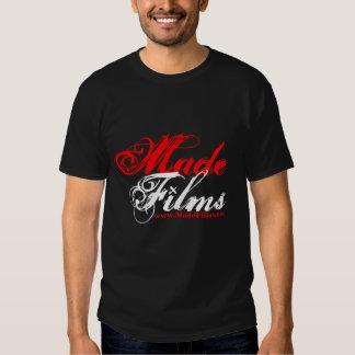 filmes feitos camisetas
