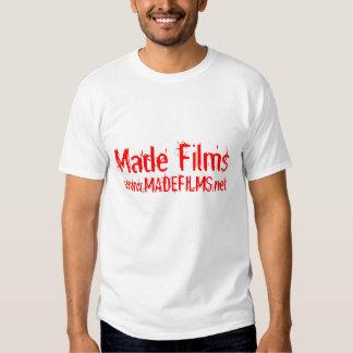 filmes feitos t-shirt
