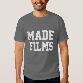 filmes feitos tshirts