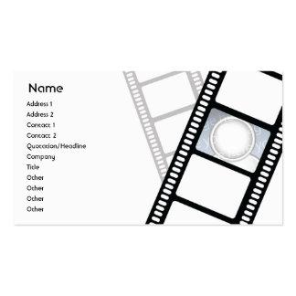 Filmstrip - negócio cartão de visita