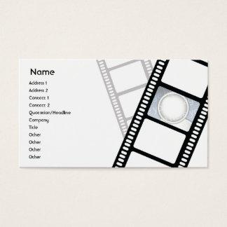 Filmstrip - negócio cartão de visitas