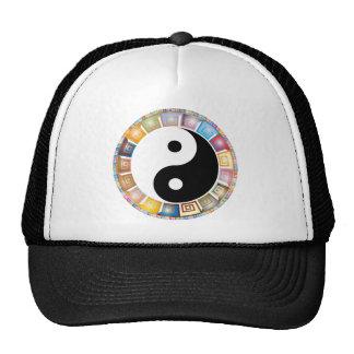 filosofia asiática oriental de yang do yin boné