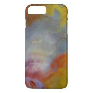 Fim-acima abstrato da madeira Petrified Capa iPhone 8 Plus/7 Plus