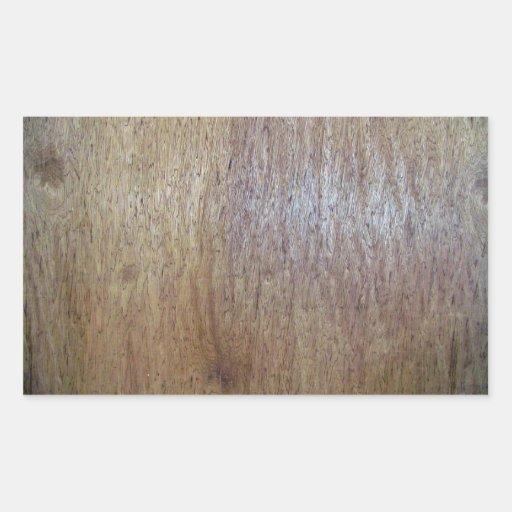 Fim-acima de madeira da textura adesivo