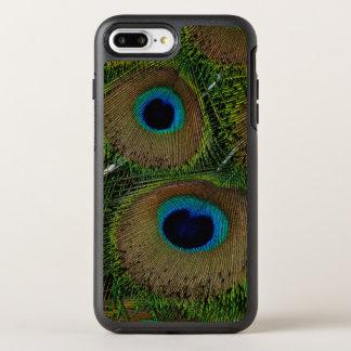 Fim-acima de penas do pavão capa para iPhone 8 plus/7 plus OtterBox symmetry