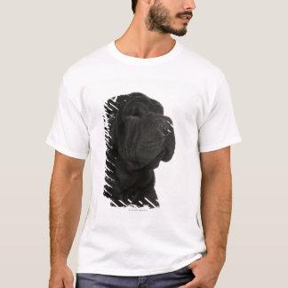 Fim-acima de Shar Pei (bebê de um ano) Camiseta
