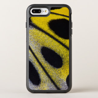 Fim-acima tropical amarelo da borboleta capa para iPhone 8 plus/7 plus OtterBox symmetry