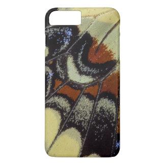 Fim-acima tropical da borboleta capa iPhone 8 plus/7 plus