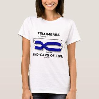 Fim-Bonés de Telomeres da vida (humor da biologia) Camiseta