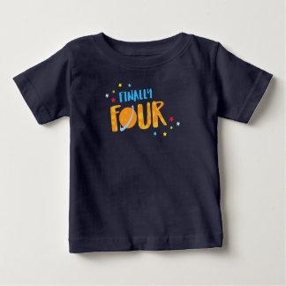 Finalmente camisa do aniversário do menino da