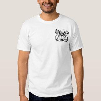 Fine Doppelseitiges Feathers shirt para cavalheiro Tshirts