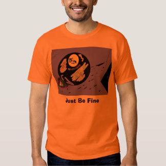 fine_edited, apenas seja fino camisetas