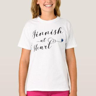 Finlandês na camiseta do coração, Finlandia