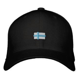 Finlandia (Cap_ preto Boné Bordado