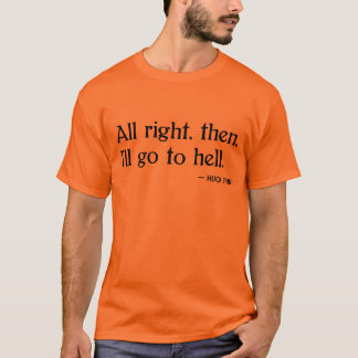 Finn do Huck no inferno Camiseta