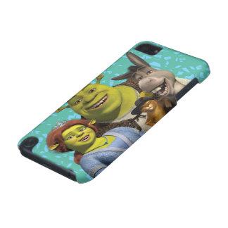 Fiona, Shrek, Puss nas botas, e asno Capa Para iPod Touch 5G