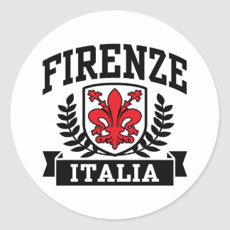 Firenze Italia Adesivo