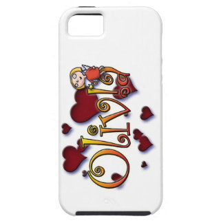 first name Olivia shirts and products Capa Tough Para iPhone 5