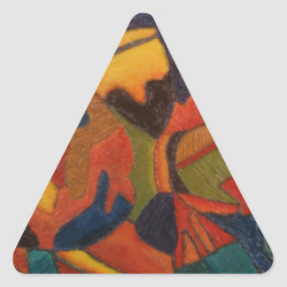 fish.jpg adesivo em forma de triângulo